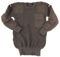 Оригинальный армейский свитер Бундесвер, OD green (48 размер)