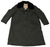 Армейское зимнее пальто Польша, olive (Б/У)