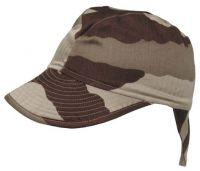 Армейская оригинальная боевая кепка Nackenschutz (Франция), desert