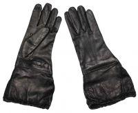 Армейские перчатки с уплотнителем Италия, чёрные