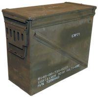 Армейский металлический ящик для патронов США Gr. 7 (Б/У)
