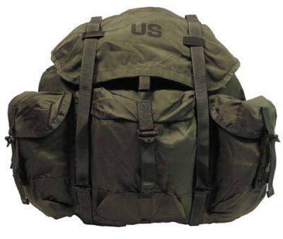 """Оригинальный рюкзак США  """"Alice bag  """" большой с металлической рамой."""